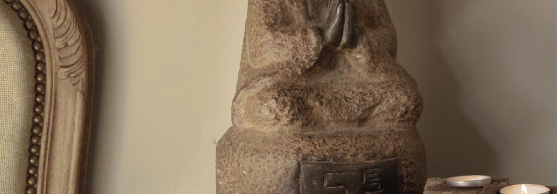 Handmade Stone Monk