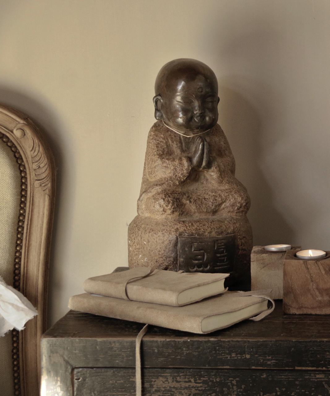 Handmade Stone Monk-1