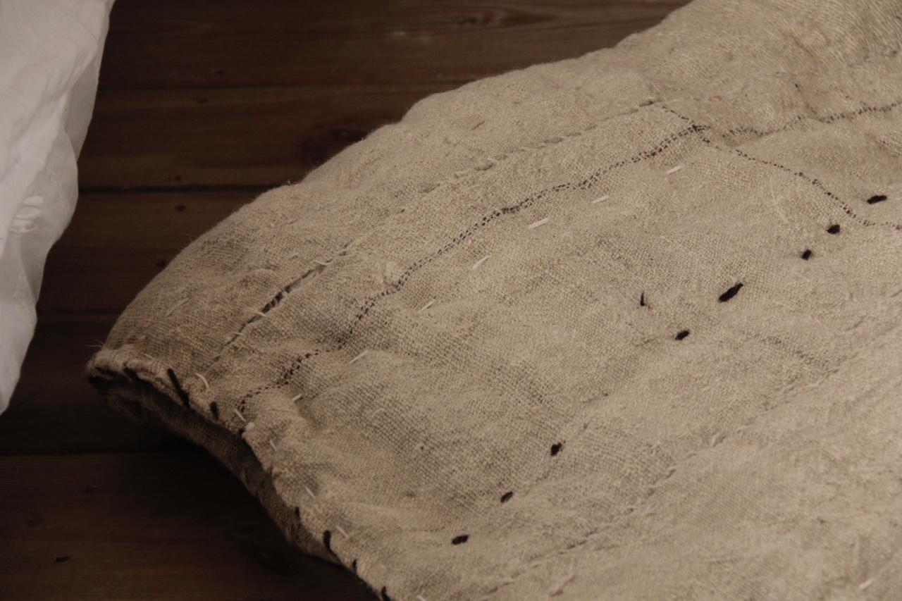 Wabi Sabi Quilted Hemp blanket mattress-6