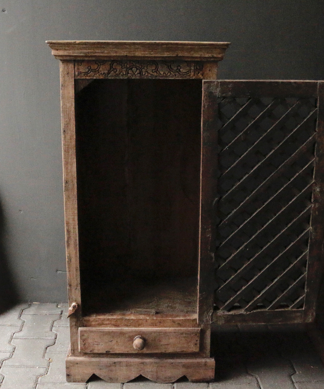 Tough old Indian cabinet-4