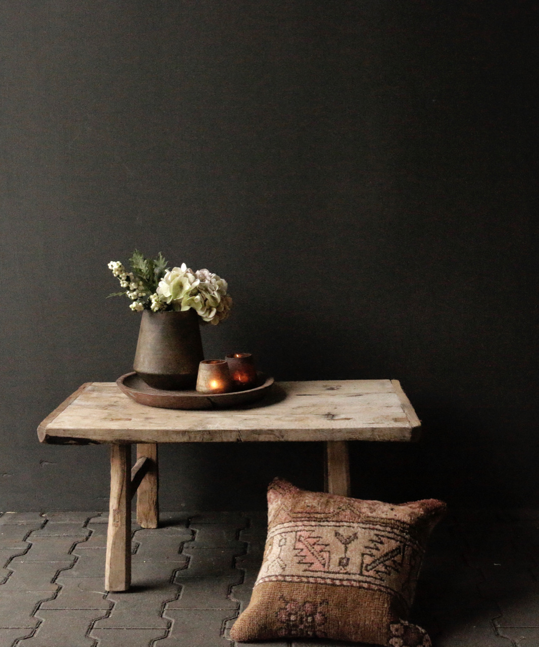 Old Authentic wooden Coffee table-1