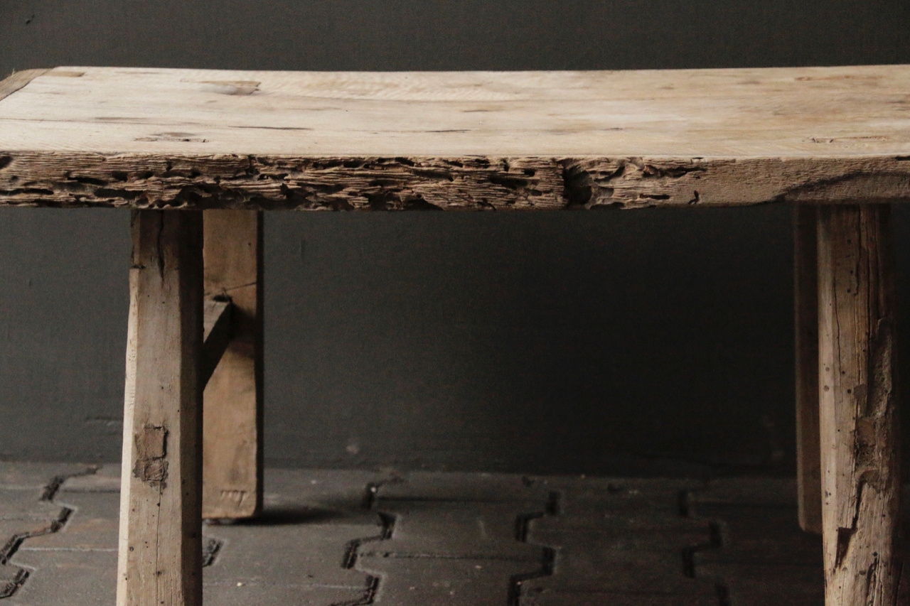 Old Authentic wooden Coffee table-8