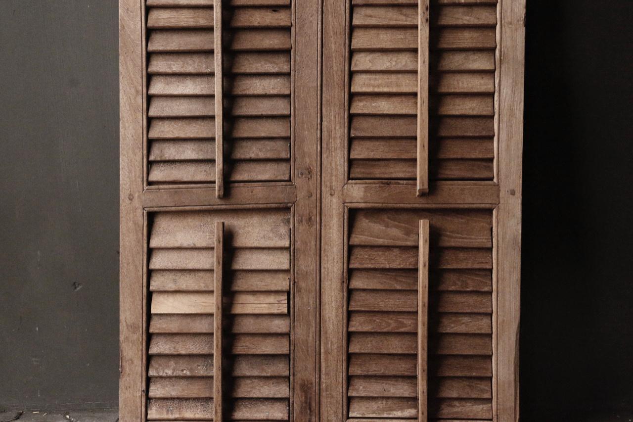 Set alte Luftschlitzfensterläden-5