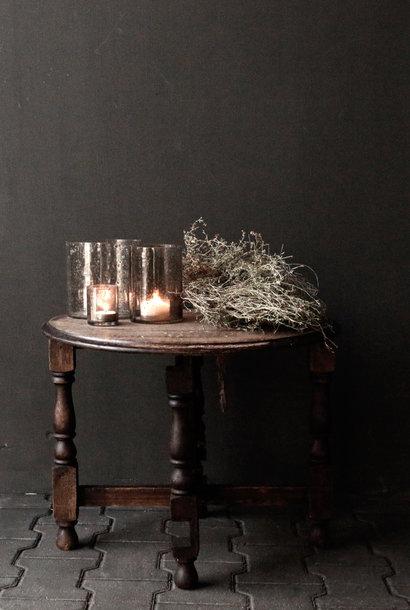 Klein oud rond Salon/Bijzet tafeltje