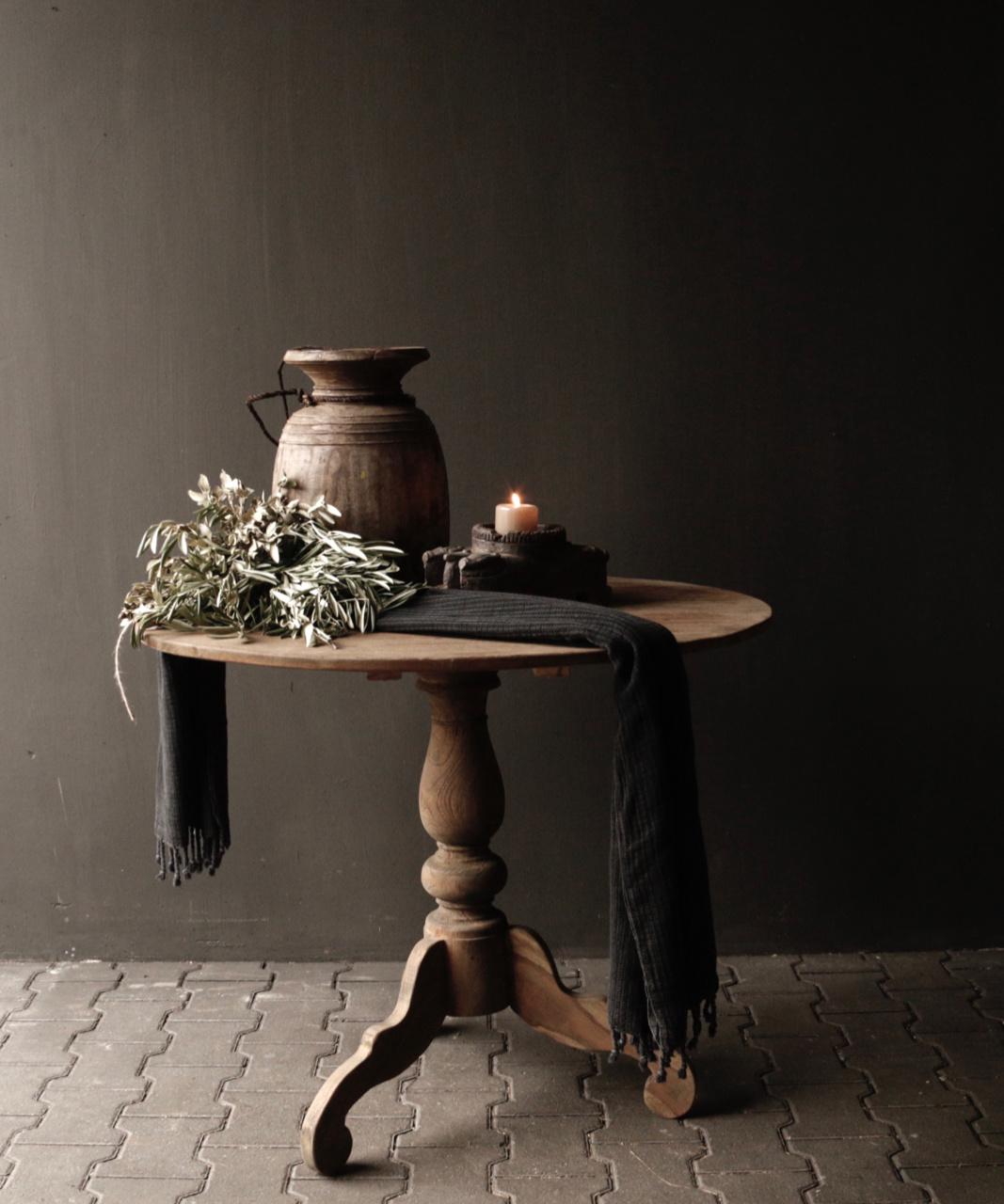 Holztisch Wein-2