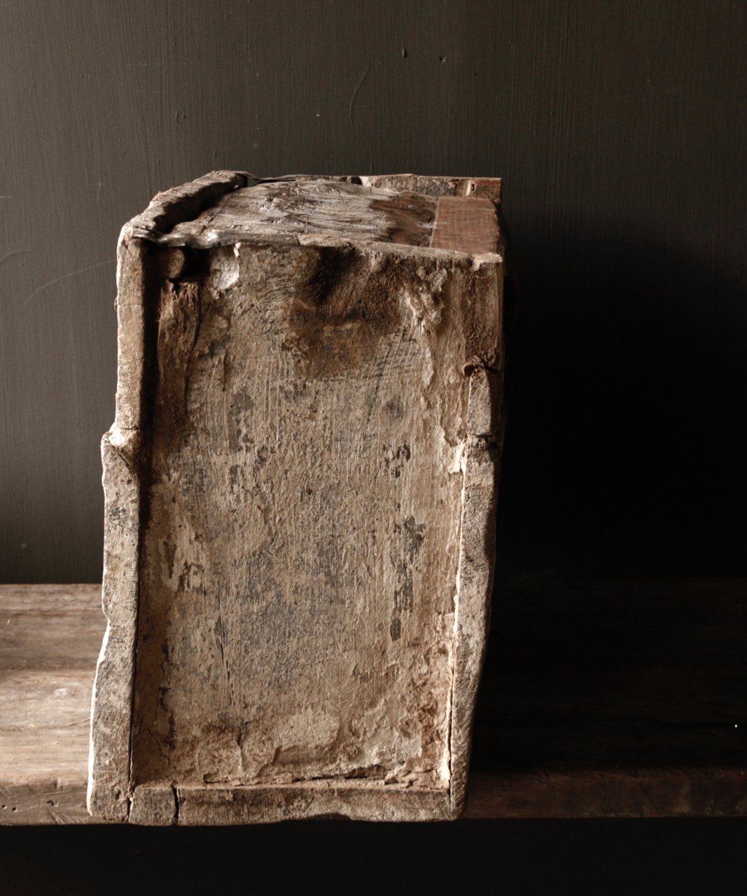 Stoer oud Himalaya   Kistje / Boxje-3