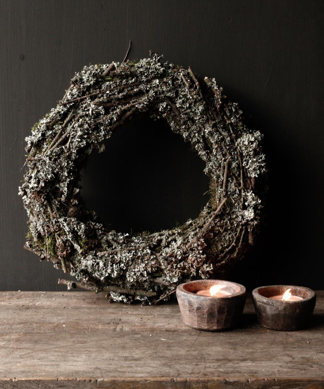 Larix moss wreath-1