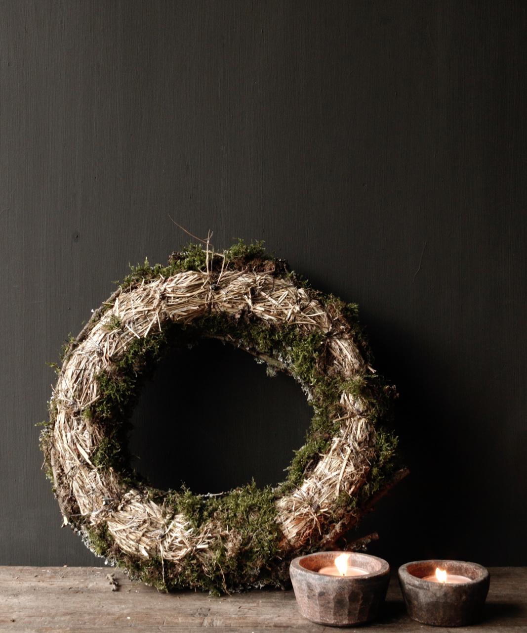 Larix moss wreath-4