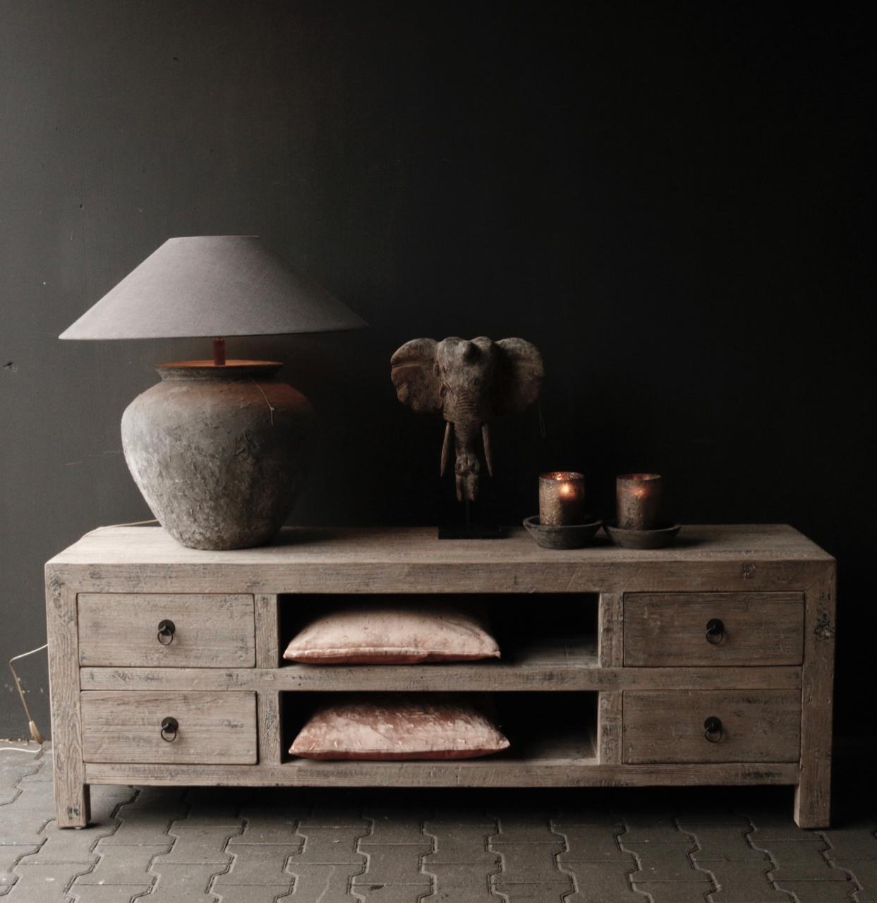 Beautiful Tough Wooden Dresser / TV cabinet / TV Furniture-1