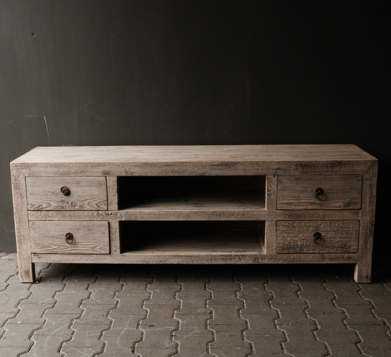Beautiful Tough Wooden Dresser / TV cabinet / TV Furniture-2