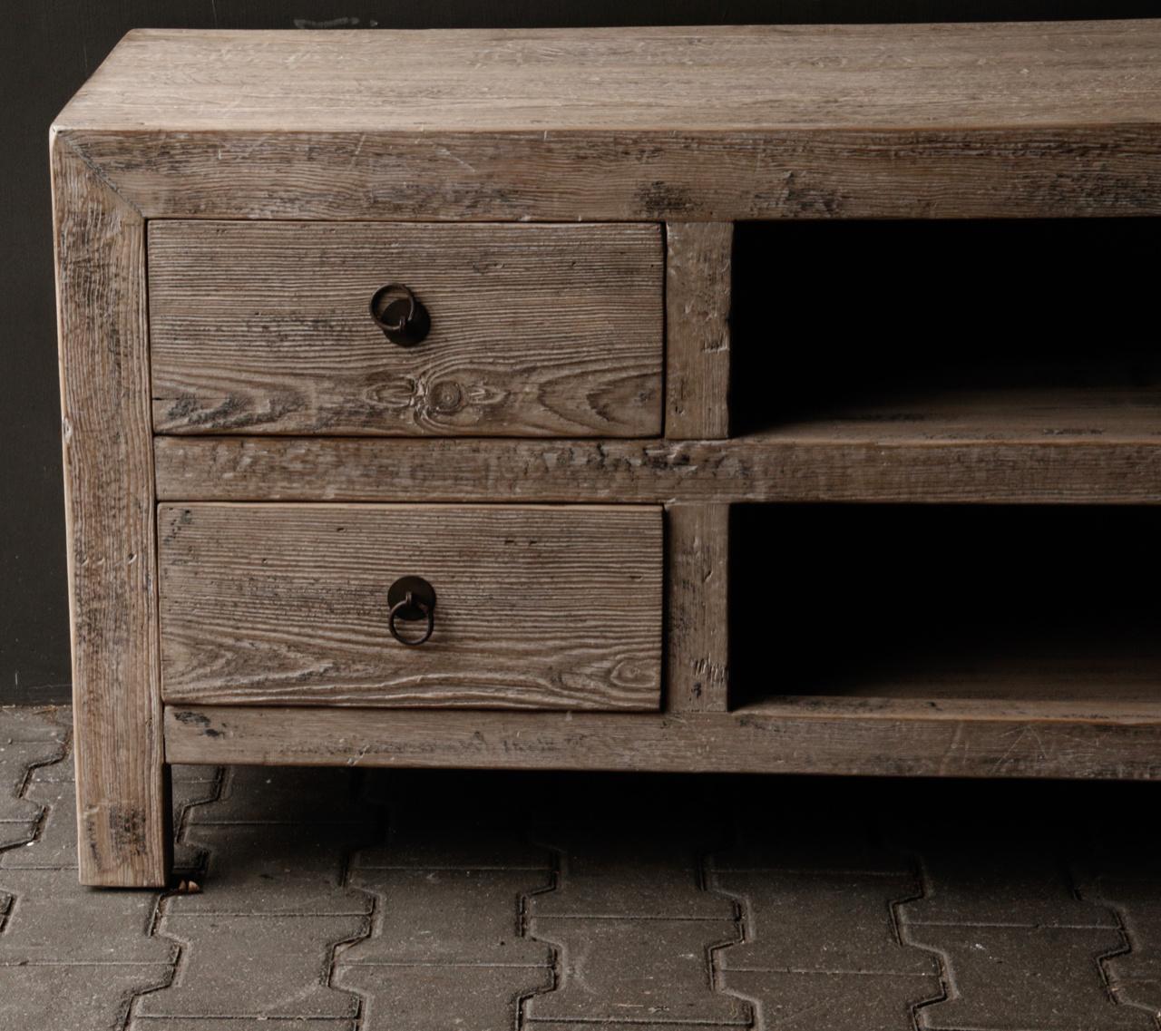 Beautiful Tough Wooden Dresser / TV cabinet / TV Furniture-7