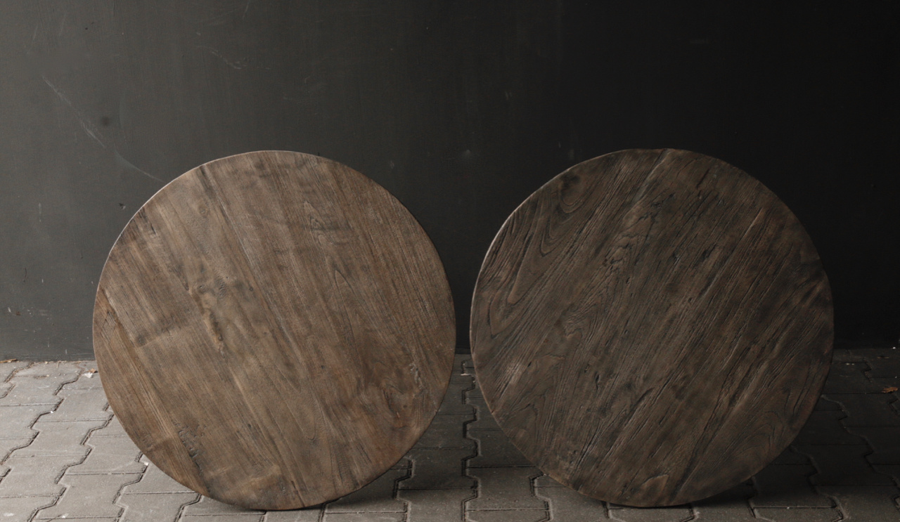 Wooden wine table-3