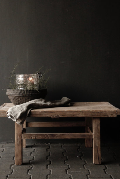 Tough Robust Old wooden coffee table