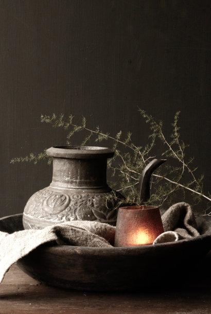 Osmanische Zinn / Kupfer Antikdose
