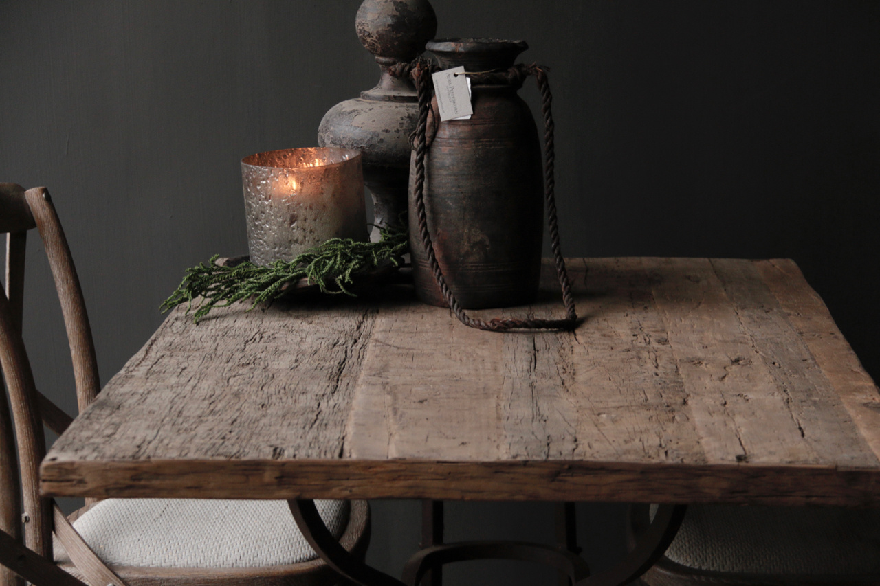 Loose old wooden table top-4