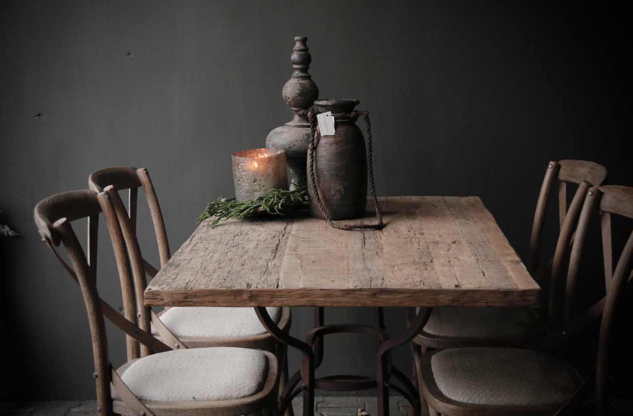 Loose old wooden table top-5