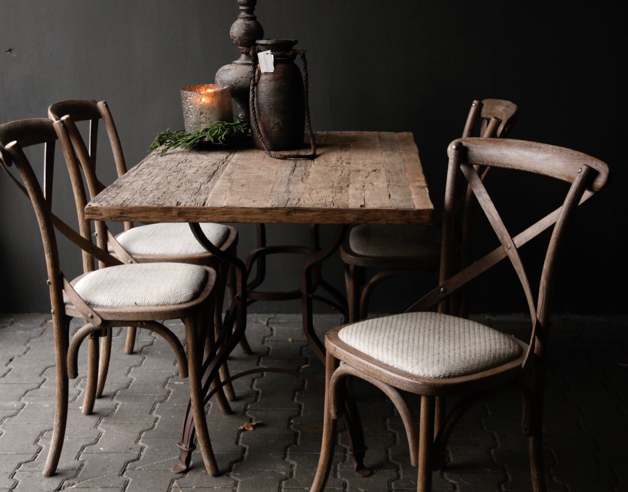 Loose old wooden table top-6