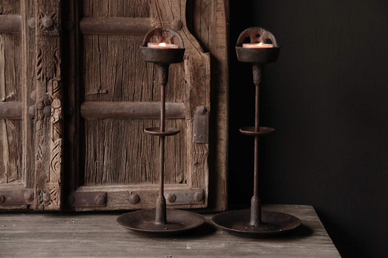 Iron Castle candlestick-4