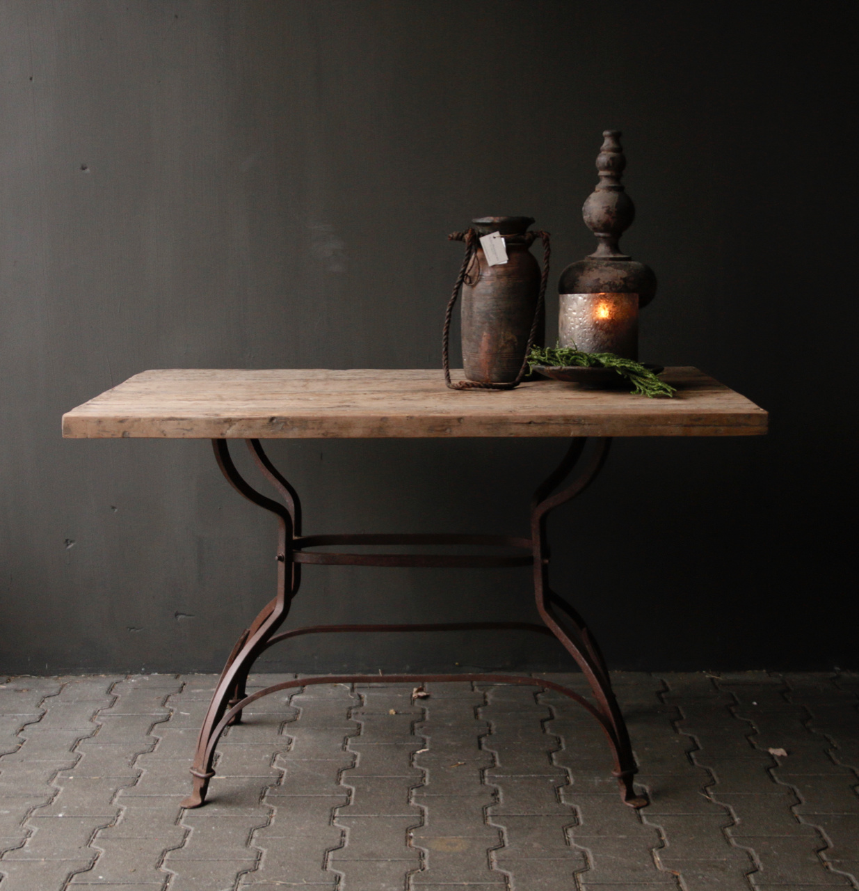 Loose old wooden table top-1