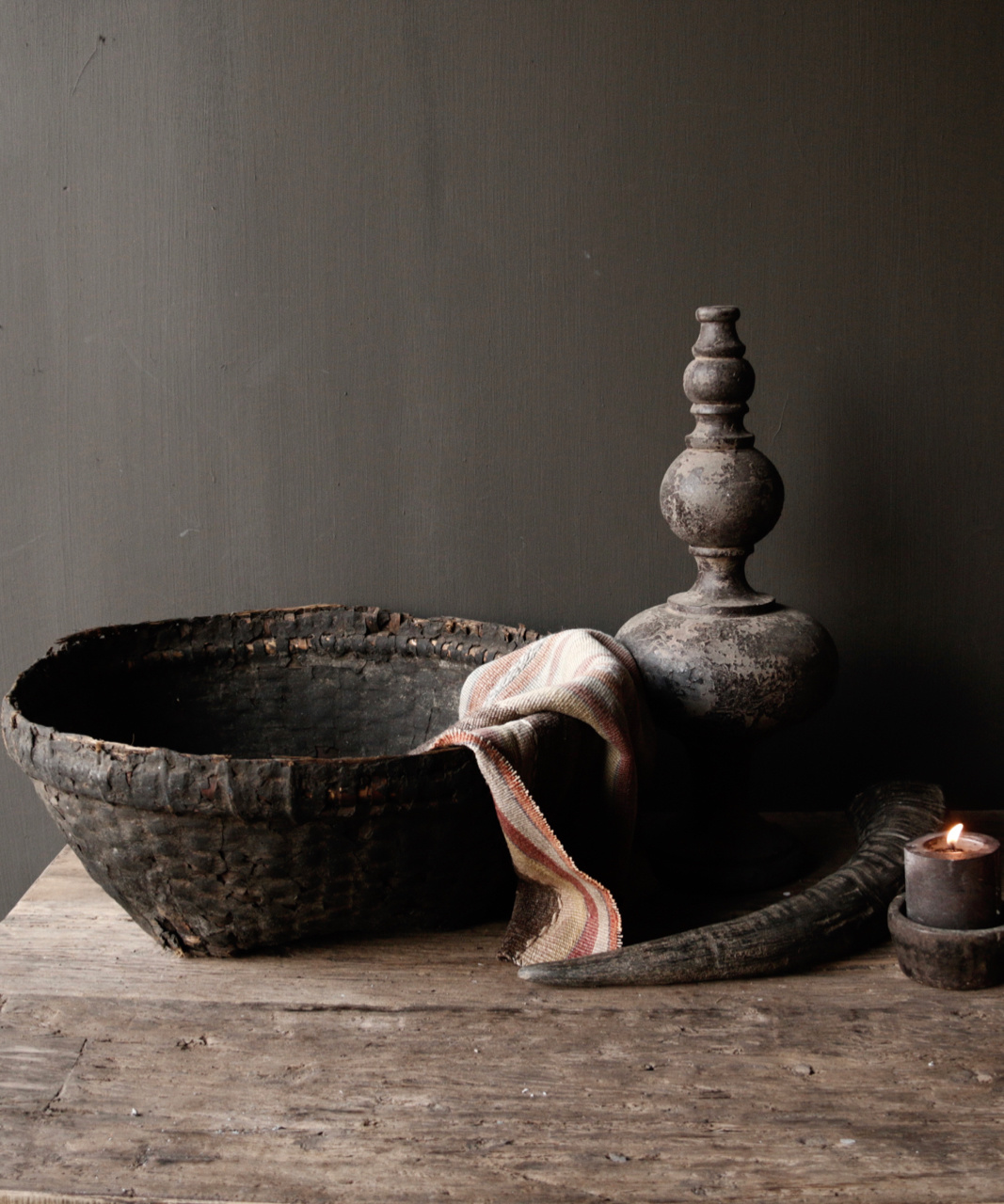 Authentic clay basket-1