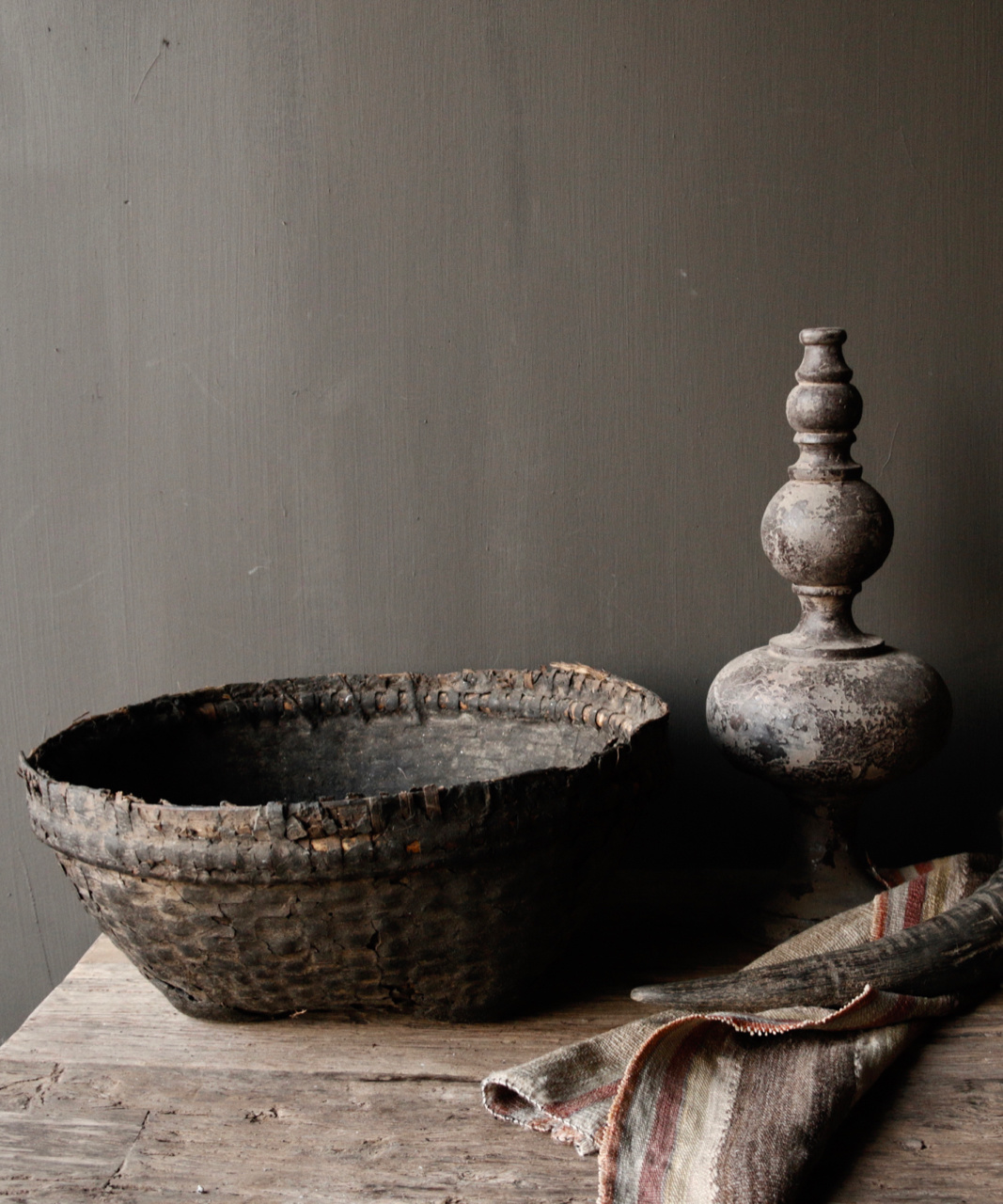 Authentic clay basket-5