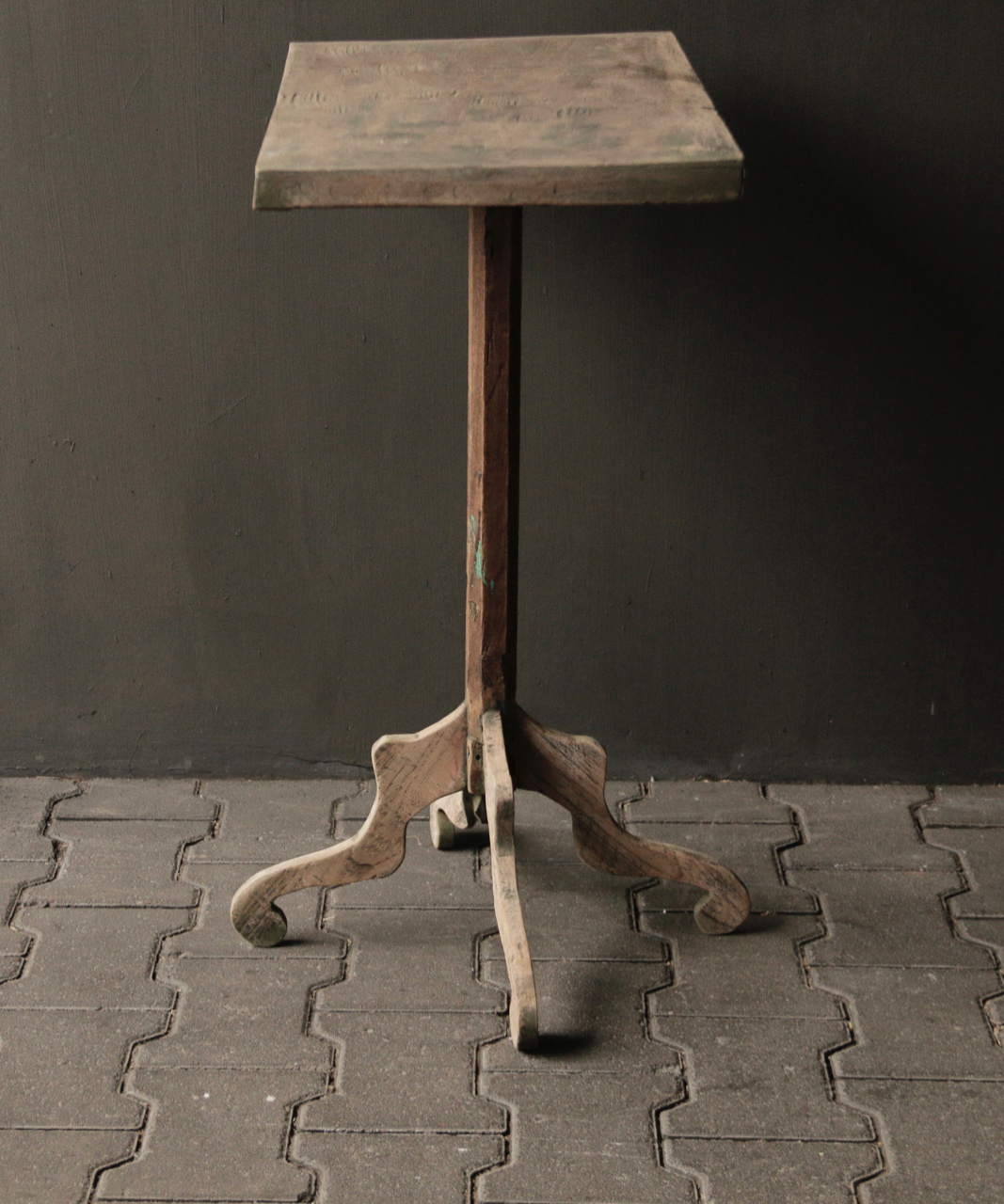 Authentic Old wooden Wine table-3