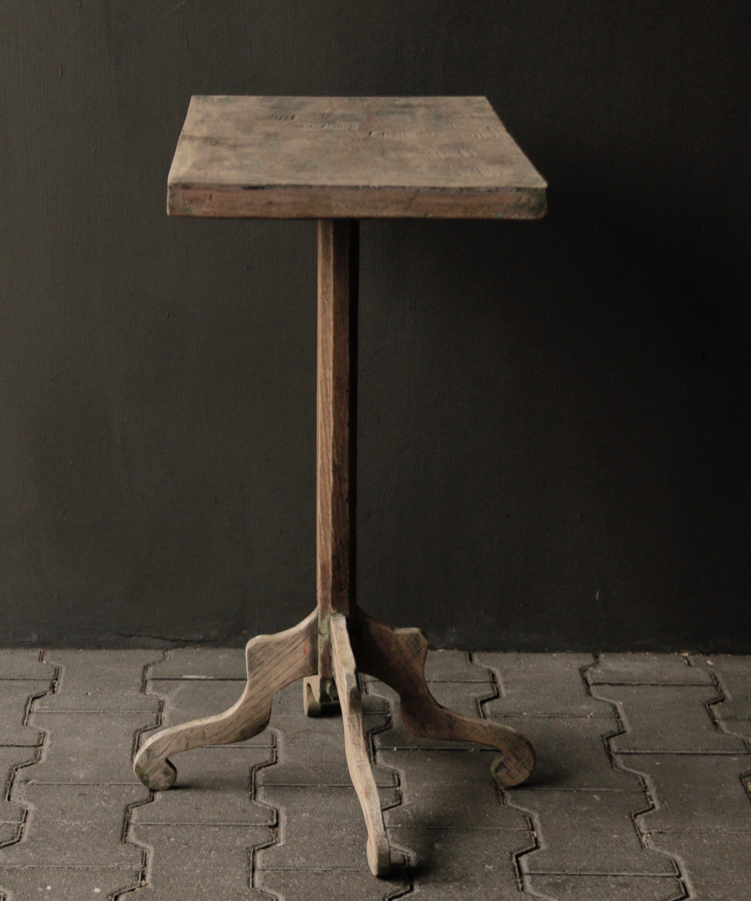 Authentic Old wooden Wine table-4