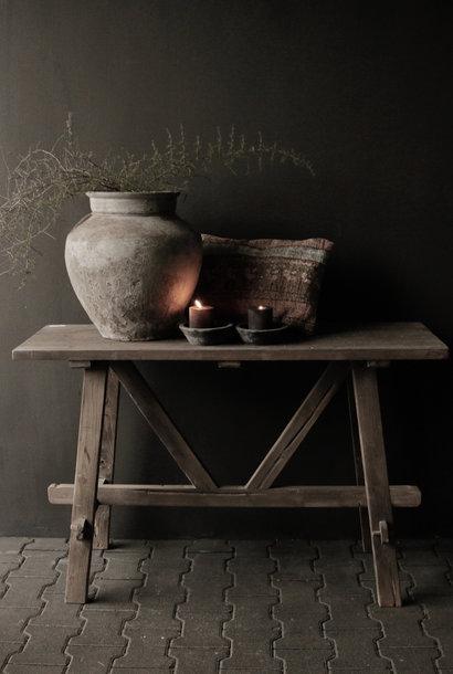 Wandtisch / Beistelltisch aus altem Holz