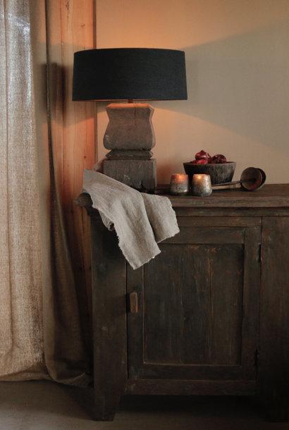 Prachtig Stoer Landelijk  oud houten kastje