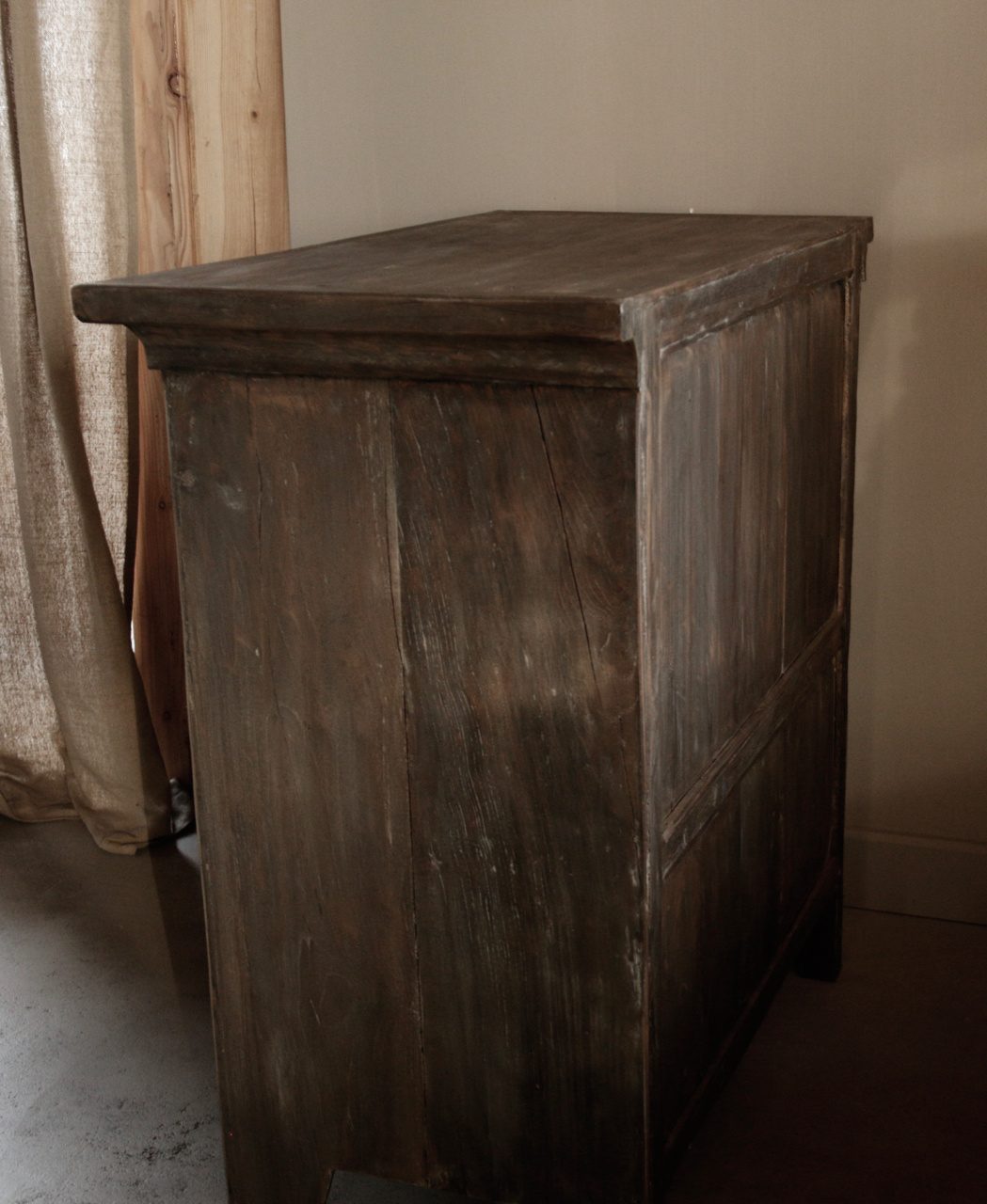 Beautiful Tough Rural old wooden cabinet-5