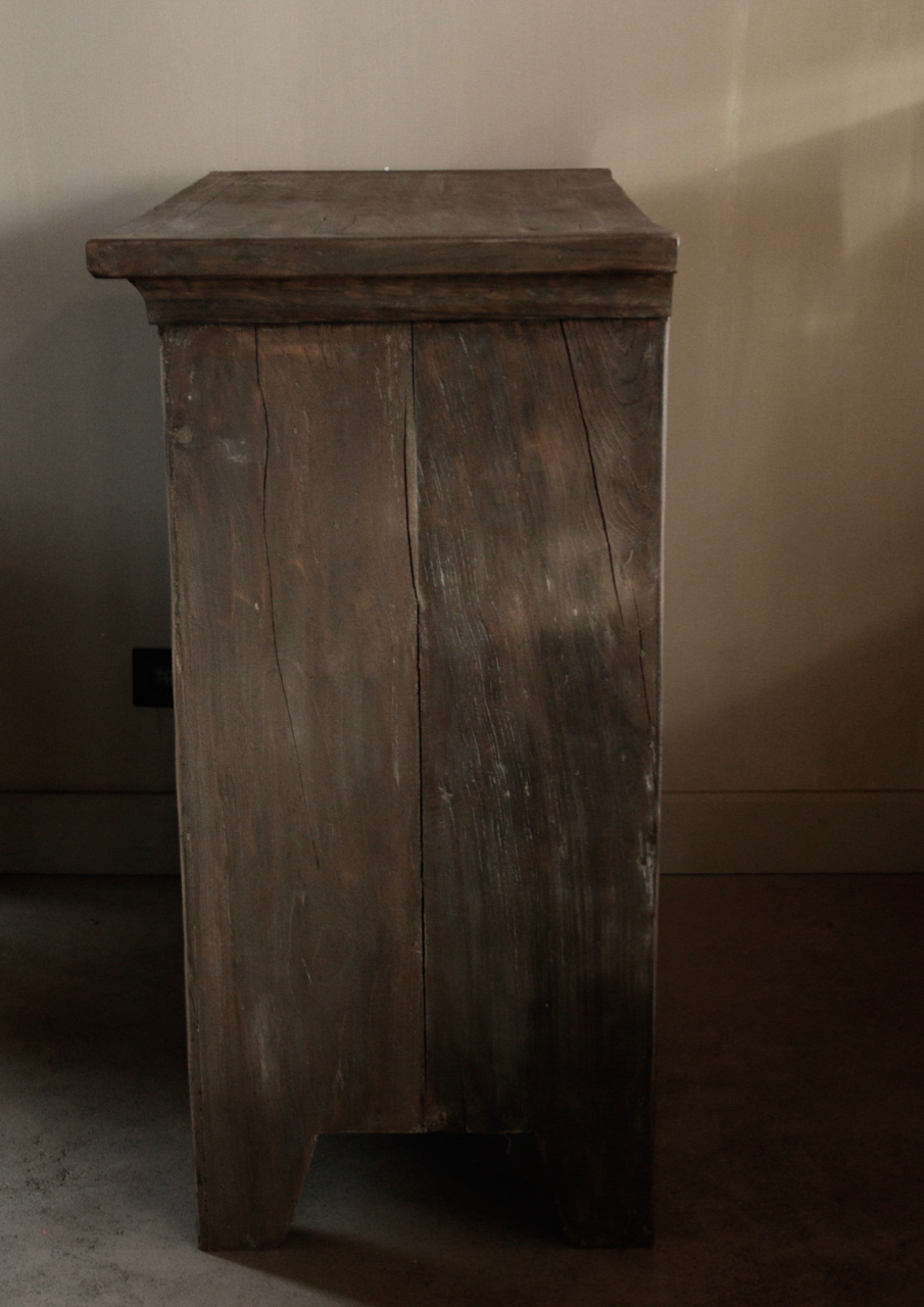 Beautiful Tough Rural old wooden cabinet-6