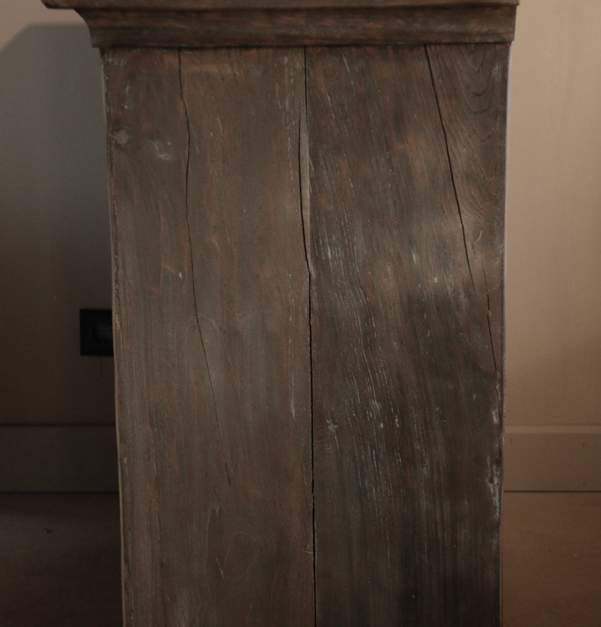 Beautiful Tough Rural old wooden cabinet-7