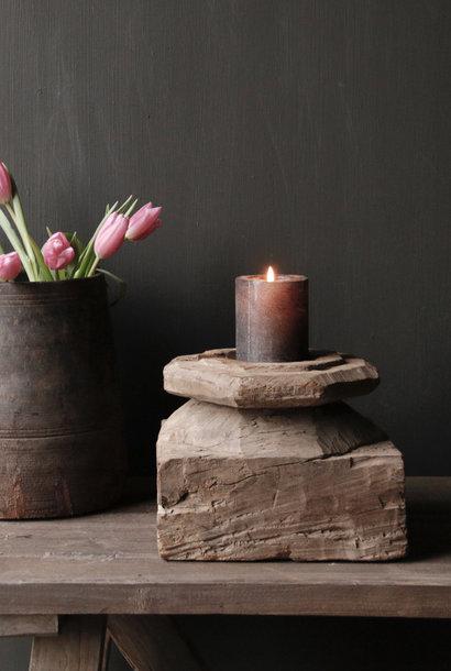 Kerzenhalter aus altem Poer