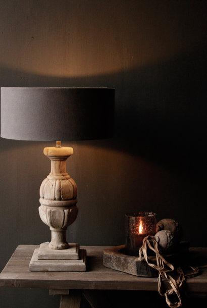 Lampensockel aus Treibholz