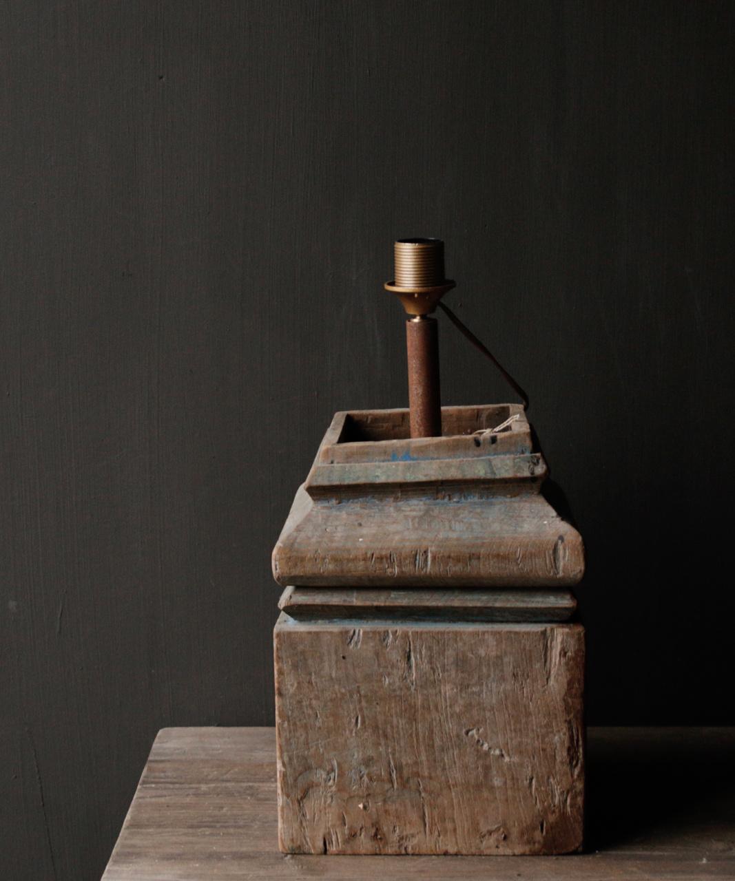 Houten Baluster lamp-5