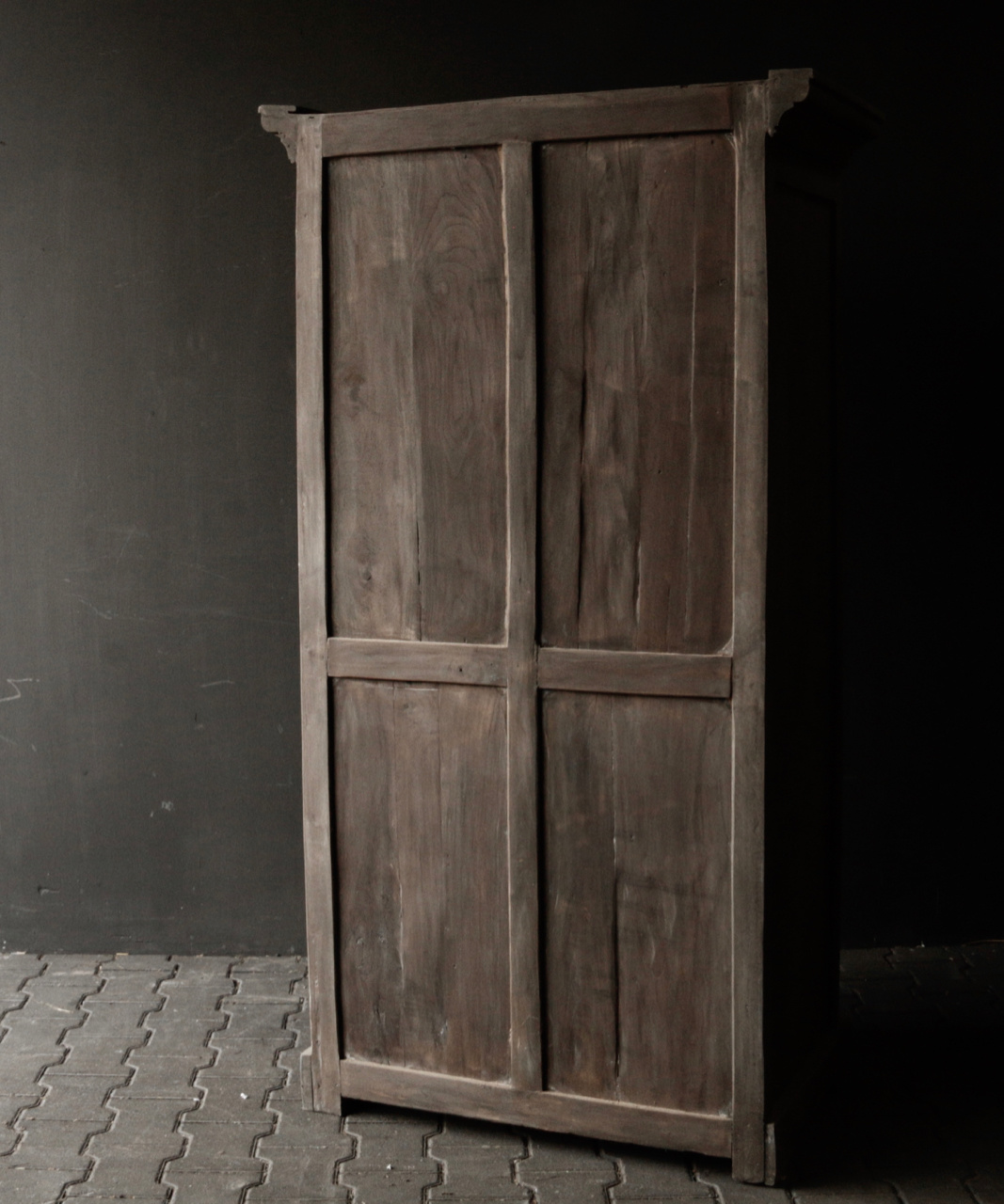 Beautiful old wooden cabinet-2