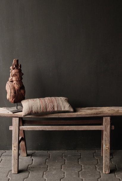Authentic Tough old wooden Bench