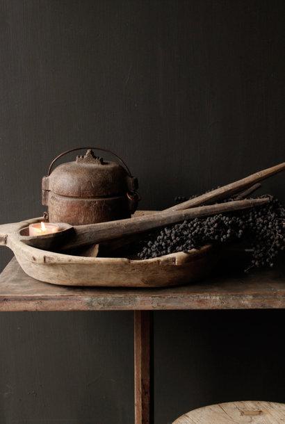 Set van twee Houten nepalese lepels