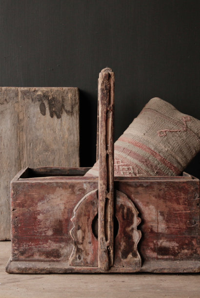 Old wooden food cover