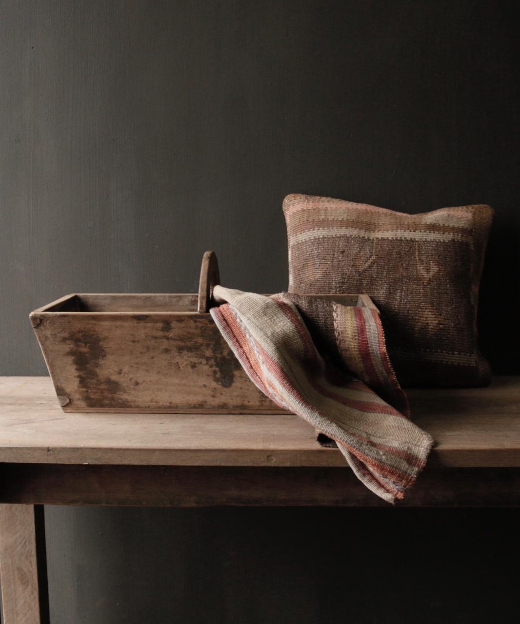 Zaaibak gemaakt van oud hout-1