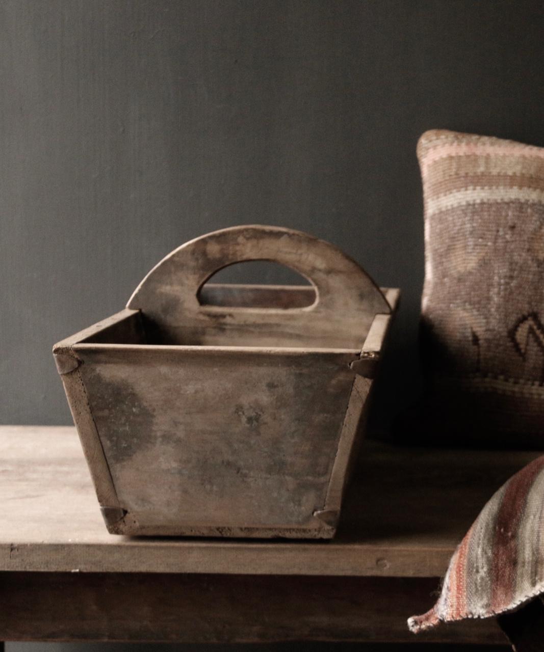 Zaaibak gemaakt van oud hout-2