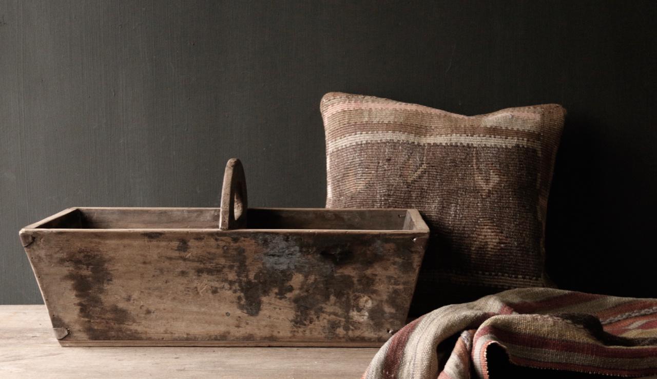 Zaaibak gemaakt van oud hout-3