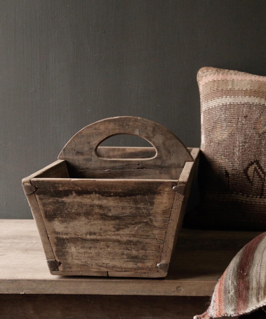 Zaaibak gemaakt van oud hout-5