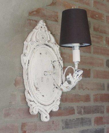 Old White Wandlampje