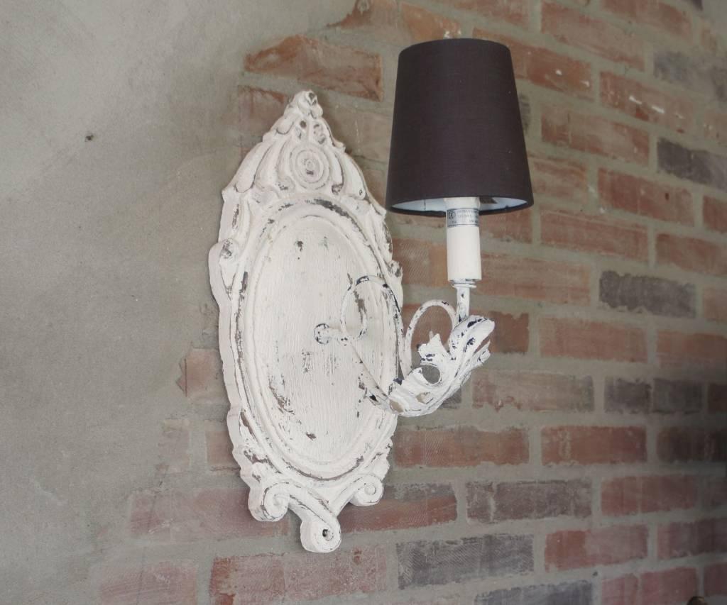 Old White Wandlampje-1