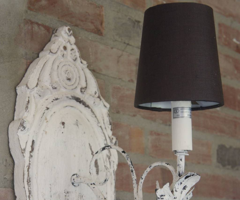 Old White Wandlampje-3
