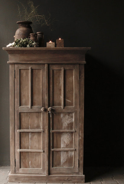 Beautiful Tough Rural solid old wooden cabinet