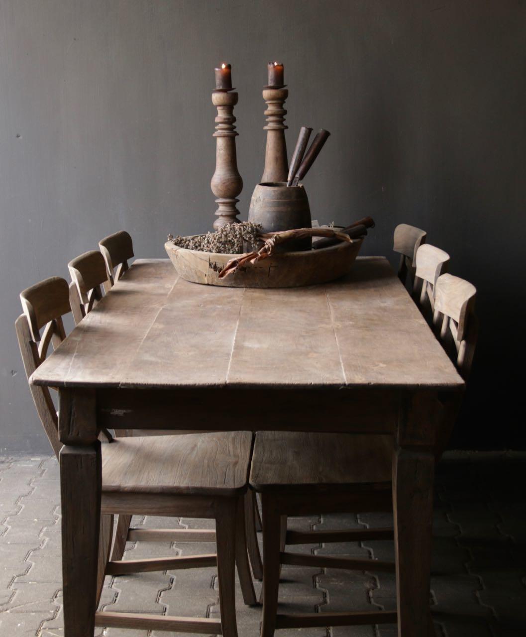 Old Authentic wooden table-6