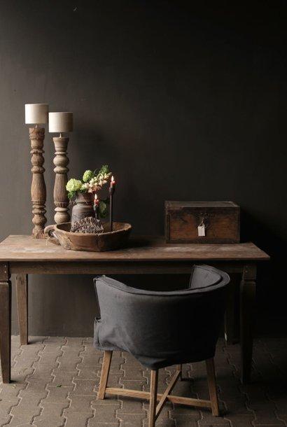 Oud Authentiek houten  tafel