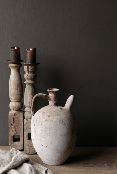 Authentic earthenware Oil jug